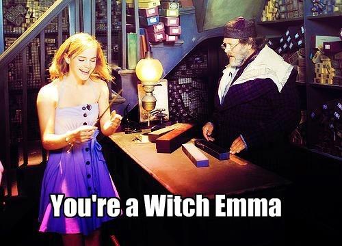 wand Harry Potter hermione granger emma watson - 7776124672