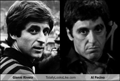 al pacino,gianni rivera,totally looks like,funny