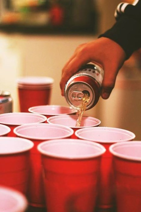 beer pong funny college - 7776318464