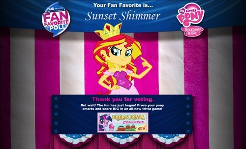 hub poll sunset shimmer - 7776353792