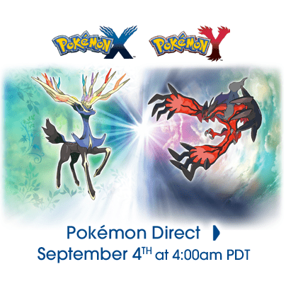 Video Game Coverage pokemon direct pokemon x/y - 7776535552