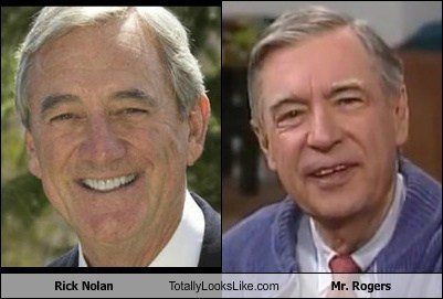 mr rogers rick nolan totally looks like funny - 7776656896