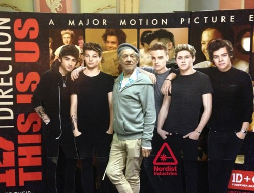 Lord of the Rings one direction xmen ian mckellan - 7776719360
