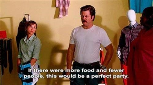 ron swanson,Party,Parks & Rec