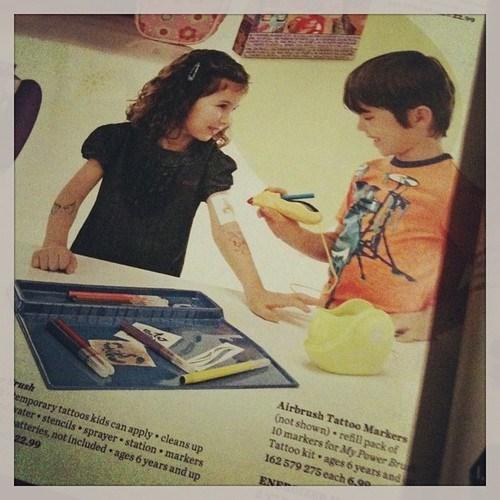 kids tattoos parenting funny - 7776879616