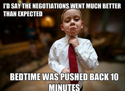 kids,bedtime,negotiations,parenting,funny