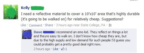 reflective people,emo kids,failbook,g rated