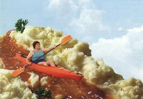 wtf,kayaking,funny,potatoes