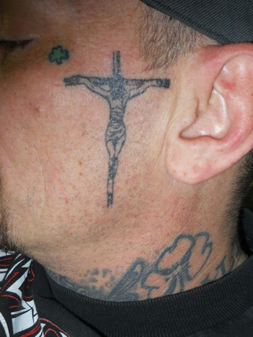 jesus arms tattoos funny - 7777101824