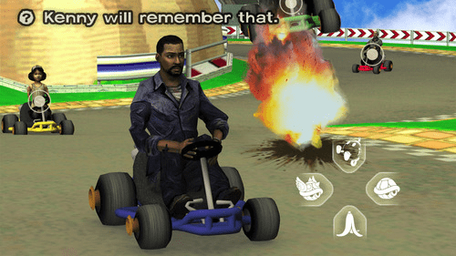 crossover Mario Kart The Walking Dead - 7777154560