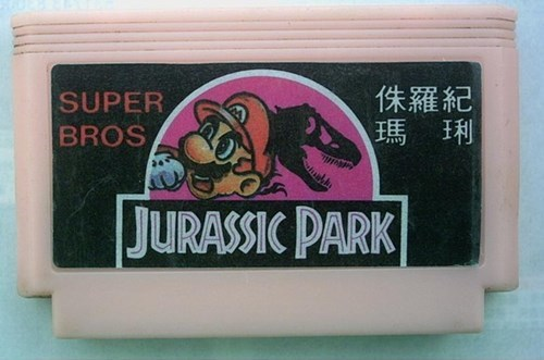 engrish video games jurassic park Super Mario bros funny - 7777309952