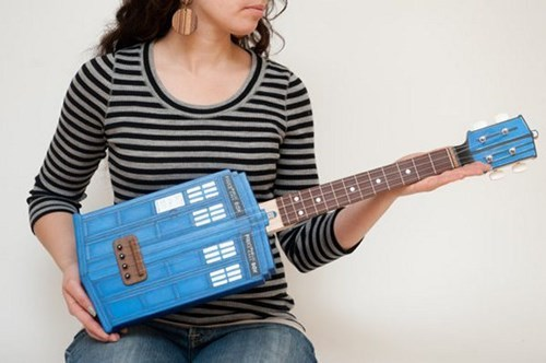 tardis for sale doctor who DIY funny ukulele - 7777310976