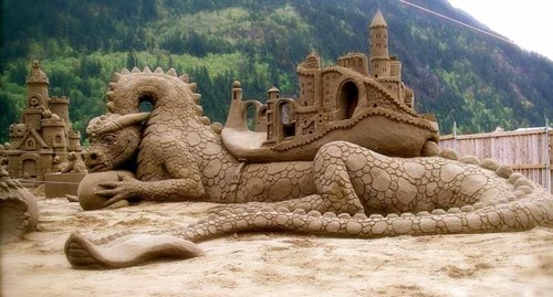 sand castle design beach nerdgasm - 7777464832