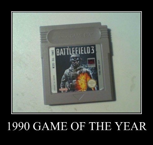 Battlefield 3 video games gameboy funny - 7777791232