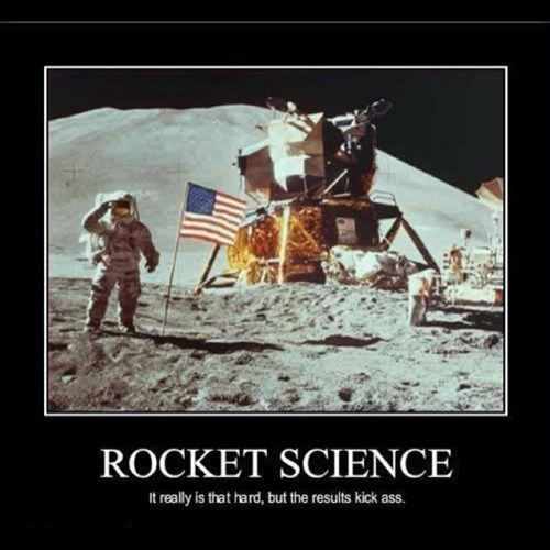 awesome astronauts difficult rockets science funny space - 7778332928