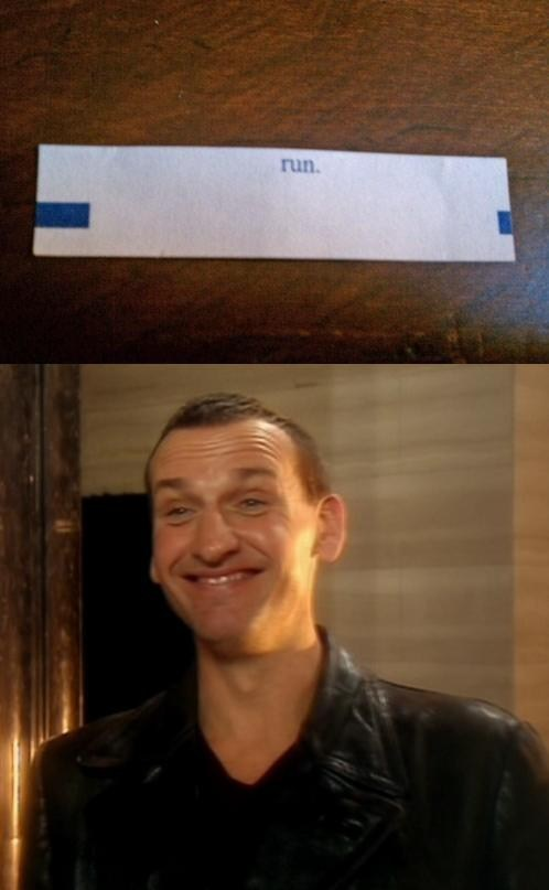 fortune cookie run christopher eccleston 9th doctor fortune - 7778392064