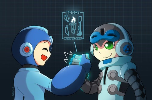 mighty no. 9 mega man crapcom - 7778569728