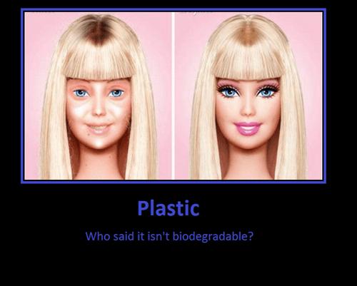 Barbie aging plastic funny - 7778584832