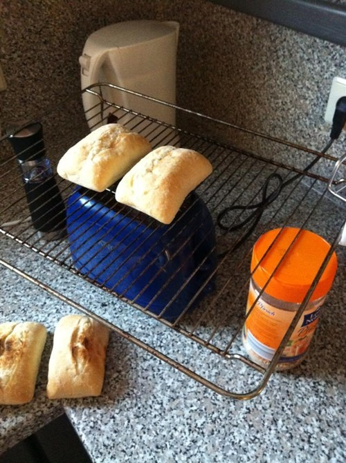 cooking funny toaster there I fixed it - 7778659072