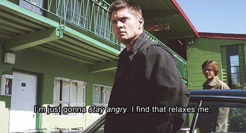jensen ackles Supernatural dean winchester angry - 7778659840