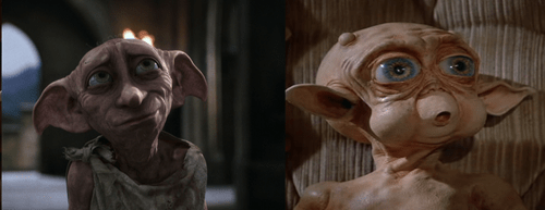 Dobby looks like the alien from Mac and Me.