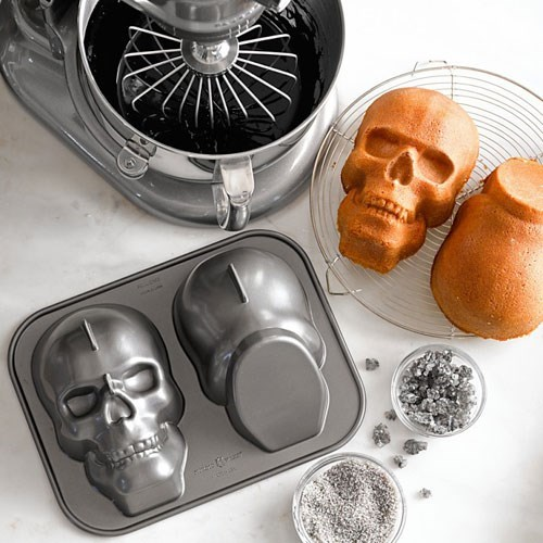 baking,design,skulls,food