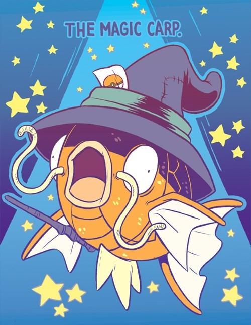 Pokémon art magikarp - 7778883840