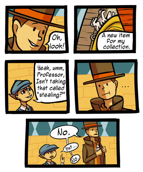 comics,professor layton