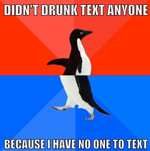 socially awkward awesome penguin Memes - 7779025664
