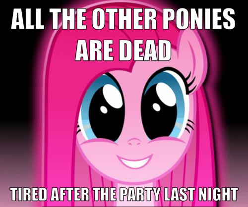 ponified,misunderstood pinkamena diane pie,Memes