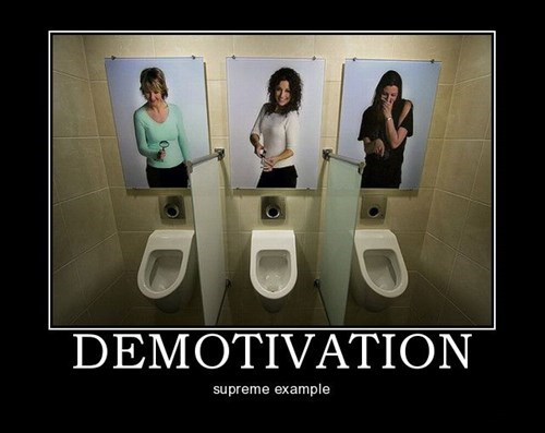 Sad demotivation bathroom funny - 7779130112