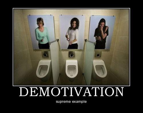 Sad demotivation bathroom funny - 7779130112