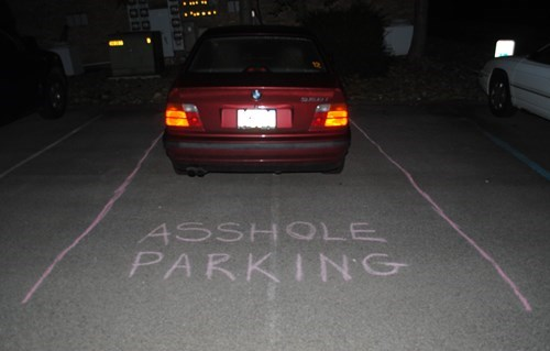 douchebag parkers cars funny parking - 7779147264