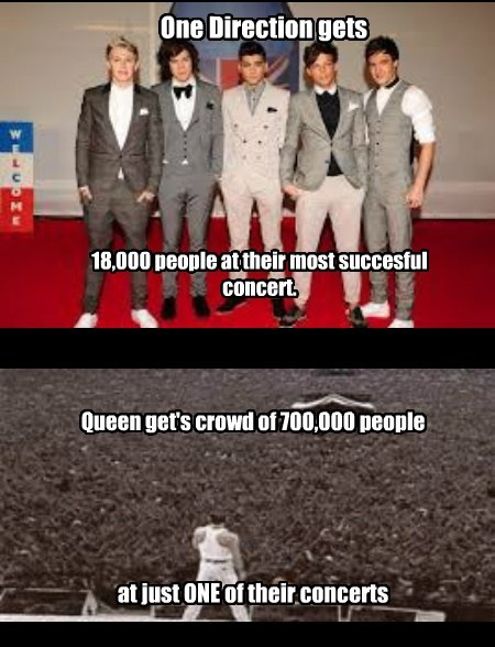 one direction queen Music FAIL funny - 7779385856