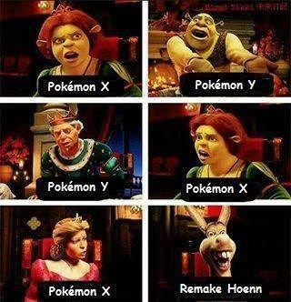 hoenn shrek pokemon x/y - 7779770112