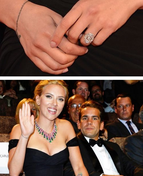 scarlett johansson engaged ring celeb - 7780376576