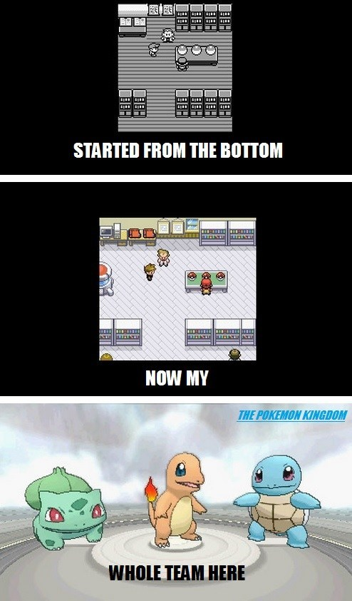 Pokémon,started from the bottom,kanto