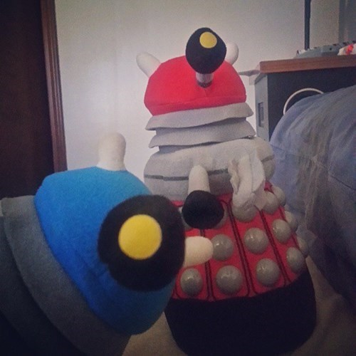 photobomb Exterminate daleks doctor who funny - 7780576256