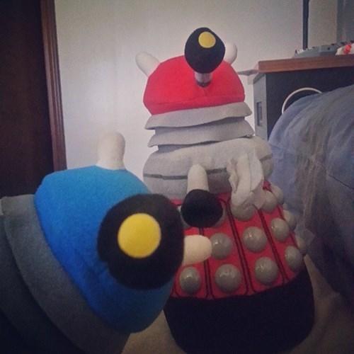 photobomb Exterminate daleks doctor who funny - 7780576256