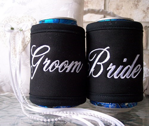 beer koozies weddings funny - 7780583680