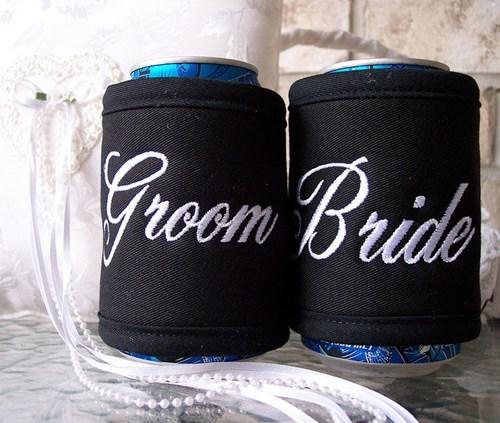 beer koozies weddings funny - 7780583680