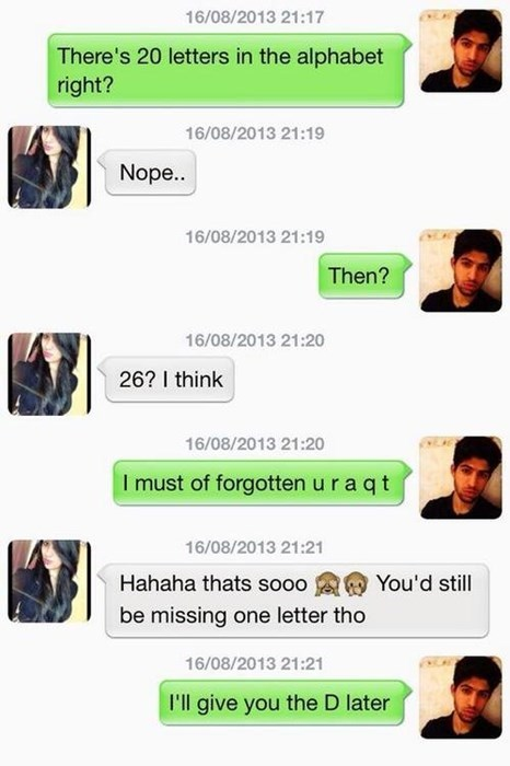 pickup lines texting funny dating - 7780714496