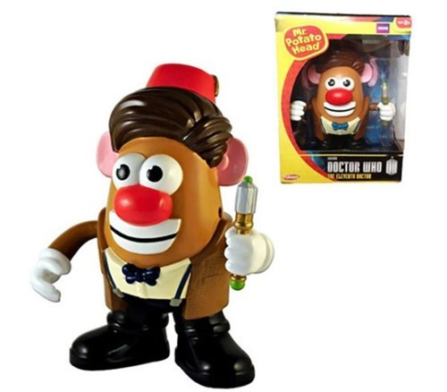 11th Doctor,doctor who,mr potato head