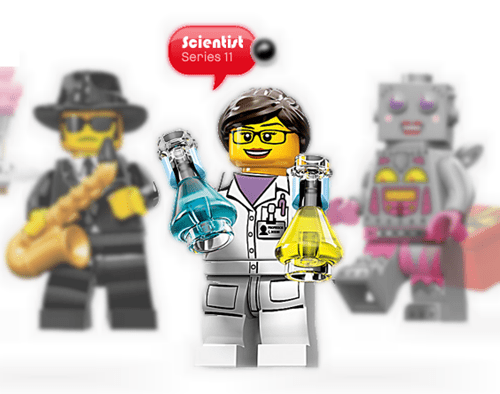 minifigs gender scientist lego STEM professions - 7780765952