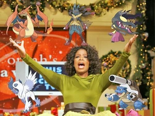 mega evolutions,Memes,oprah