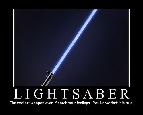 fact lightsaber star wars funny - 7780894464