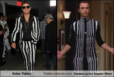 totally looks like robin thicke the big bang theory funny - 7780924416