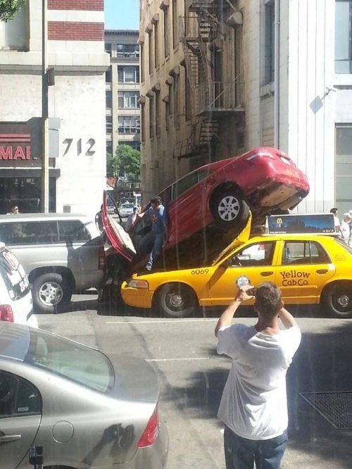 cars what funny parking - 7780969984
