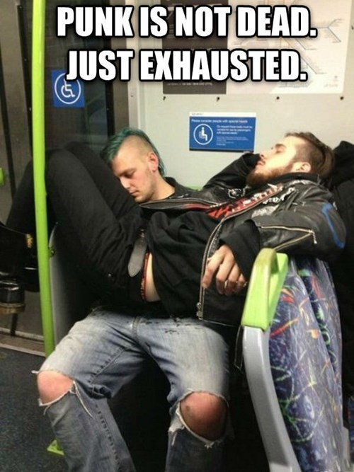 punk nap exhausted - 7781123584