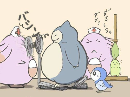 Pokémon,snorlax,scales
